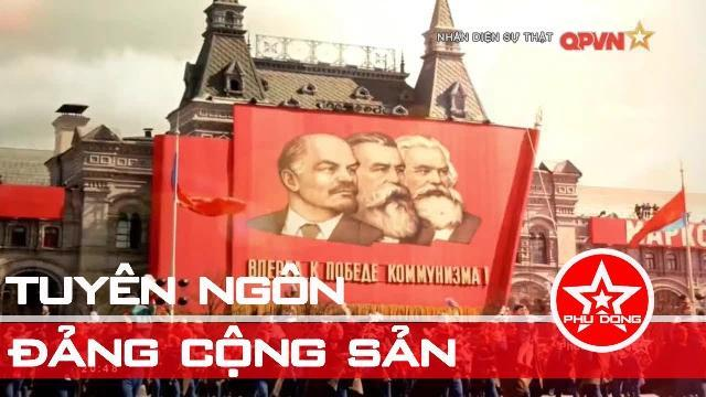 Mưu đồ xảo quyệt của phản động khi xuyên tạc Tuyên ngôn của Đảng cộng sản