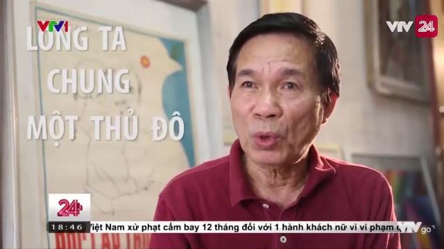 GẶP GỠ HỌA SĨ VẼ BỨC TRANH BÁC HỒ VÀ THIẾU NHI | VTV24