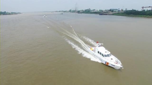 Cảnh sát biển Việt Nam thực thi pháp luật trên biển