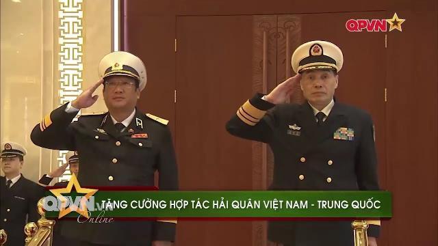 Tư lệnh Hải quân Việt Nam, Chuẩn đô đốc Phạm Hoài Nam thăm Hạm đội Nam Hải Trung quốc