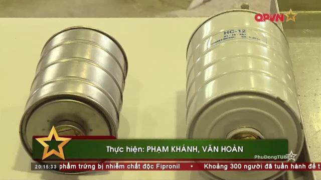 Nhà máy X61 sản xuất thiết bị đặc chủng chống độc, phóng xạ cho Quân đội Việt Nam