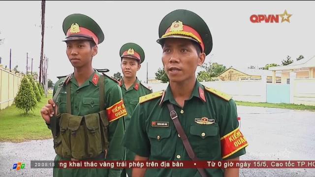 Trung đội trưởng vệ binh mẫu mực ở Lữ đoàn Pháo binh 226