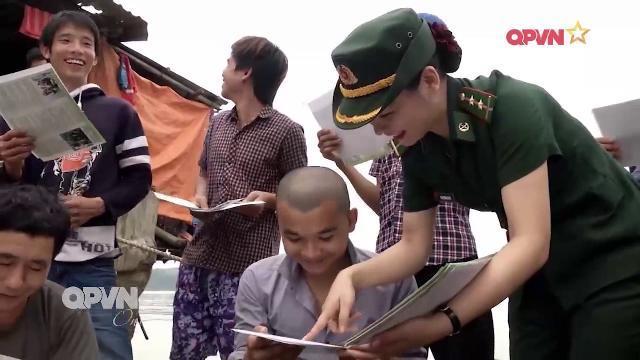 Quân đội Việt Nam không thể thiếu những nữ quân nhân như thế...