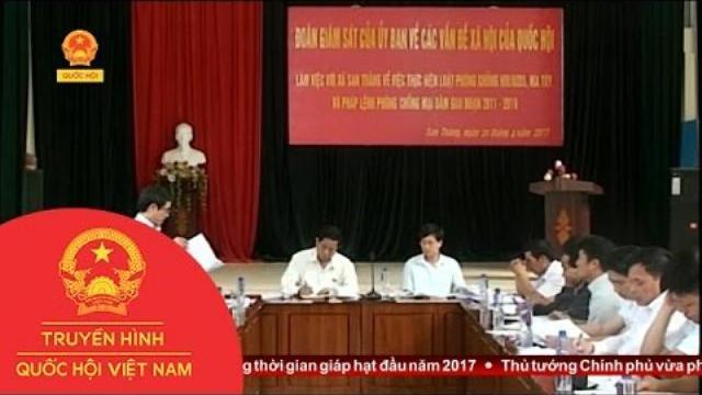 Thời sự - Ủy Ban Về Các Vấn Đề Xã Hội Của Quốc Hội Giám Sát Tại Lai Châu