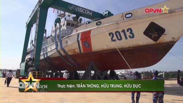 Trạm sửa chữa tàu quân sự hiện đại của Cảnh sát biển Việt Nam