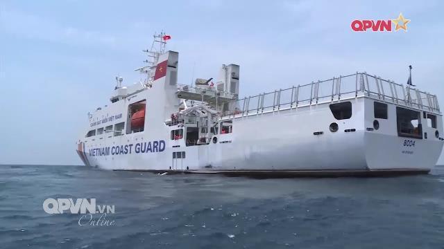 Cảnh sát biển Việt Nam Trung quốc kết thúc tuần tra chung trên biển