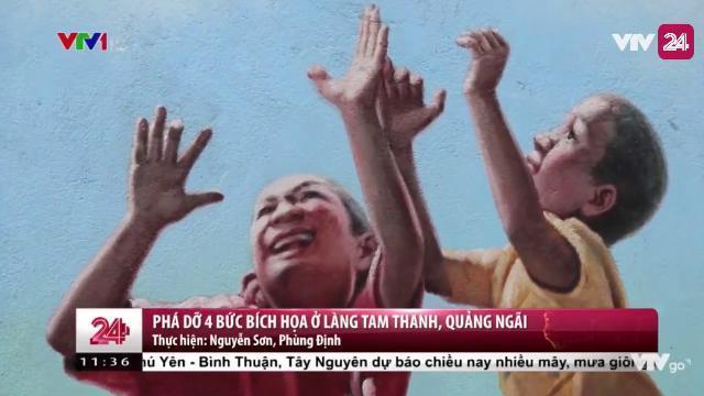 Sẽ Phá Bỏ 4 Bức Tranh Độc Đáo Tại Làng Bích Họa Tam Thanh - Tin Tức VTV24