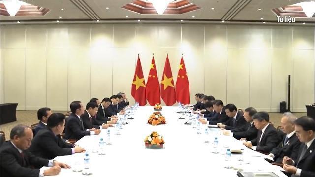 Chủ tịch nước Trần Đại Quang và Phu nhân thăm cấp Nhà nước tới CHND Trung Hoa