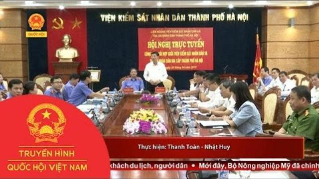 Thời sự - Tăng cường phối hợp giữa VKSND và TAND thành phố Hà Nội