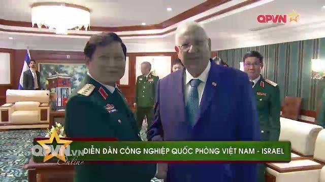 Israel sẵn sàng hợp tác với Việt Nam về Công nghiệp quốc phòng