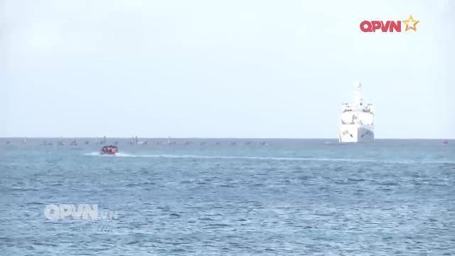 Tàu Hải quân Việt Nam trực chiến ở Trường Sa: Điểm tựa của quân dân đảo xa