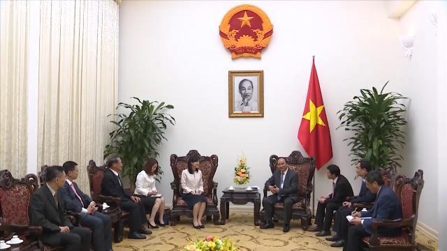 Thủ tướng Nguyễn Xuân Phúc tiếp Tổng Giám đốc điều hành Tập đoàn Bảo Thành - Đài Loan