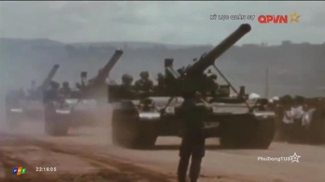 7 xe tăng thiết giáp Việt Nam đối đầu với 130 xe TTG của Mỹ ngụy năm 1973