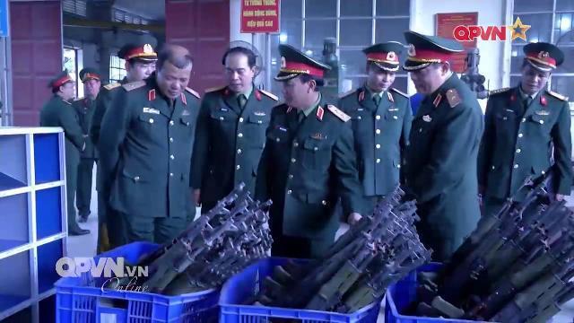 Nhà máy Z131 phát huy thế mạnh sản xuất vũ khí phục vụ quốc phòng