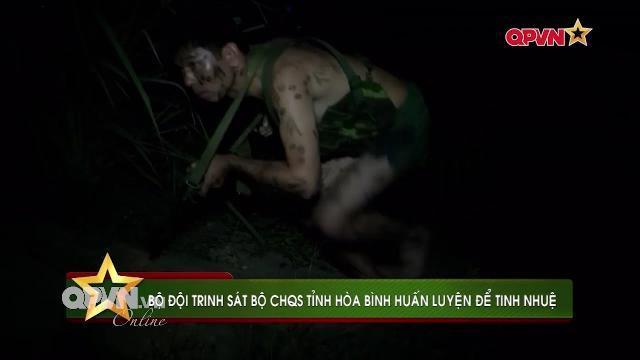 Thời sự Quốc phòng Việt Nam ngày 14/3/2017: Đại đội trinh sát tinh nhuệ của BCHQS Hòa Bình