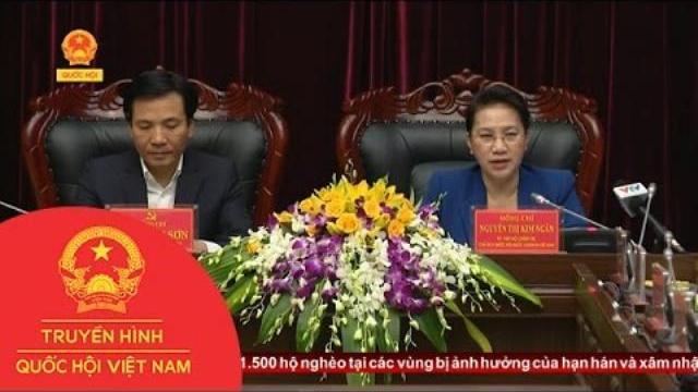 Thời sự - Chủ tịch Quốc hội làm việc với Lãnh đạo chủ chốt tỉnh Điện Biên