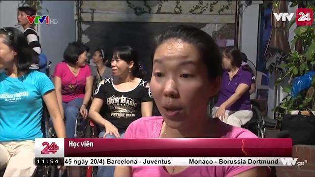 Dạy Nhảy Miễn Phí Cho Người Khuyết Tật - VTV24