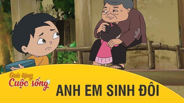 Quà tặng cuộc sống - ANH EM SINH ĐÔI - Phim hoạt hình hay nhất 2017 - Phim hoạt hình Việt Nam