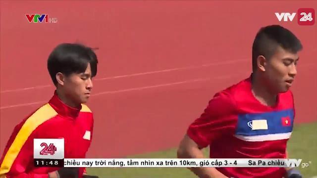 U20 Việt Nam - Tập luyện và sẵn sàng cho VCK U20 Thế giới | VTV24