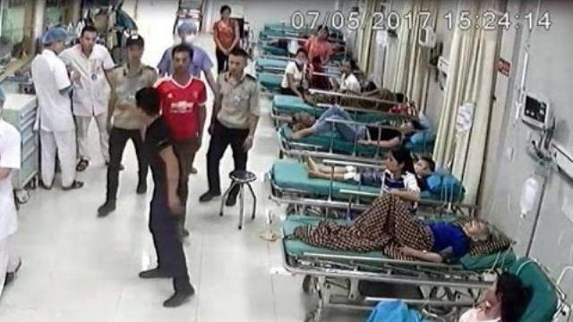 """Nã súng náo loạn Bệnh viện vì người yêu bị """"bạc đãi"""""""