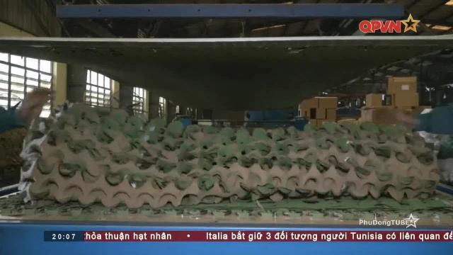 Nơi sản xuất lưới ngụy trang cho Quân đội Việt Nam