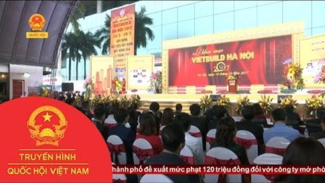 Thời sự - 450 doanh nghiệp tham gia triển lãm Vietbuild Hà Nội 2017