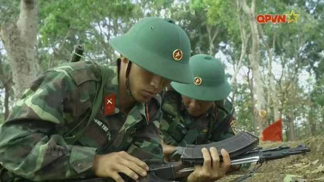 Huấn luyện chiến sĩ mới ở Trung đoàn 584, Đắk Lắk