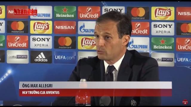 Tin Thể Thao 24h Hôm Nay (7h- 9/5) Lượt Về Bán Kết Cup C1: Juventus Quyết Hạ Nốc Ao Monaco 1 Lần Nữa