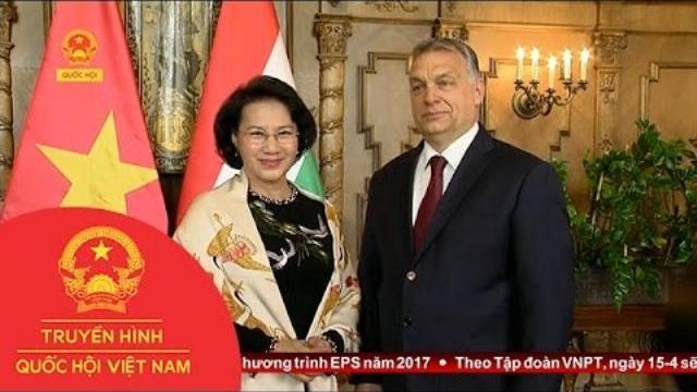 Thời sự - Chủ tịch Quốc hội Nguyễn Thị Kim Ngân hội kiến Thủ tướng Hunggary