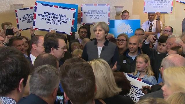 Thủ tướng Theresa May: Anh cần sự ổn định cho cuộc đàm phán về Brexit