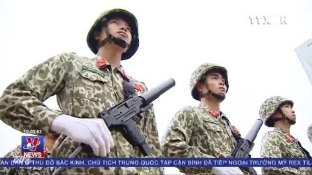Đặc công Việt Nam bảo vệ an ninh Hội nghị APEC 2017