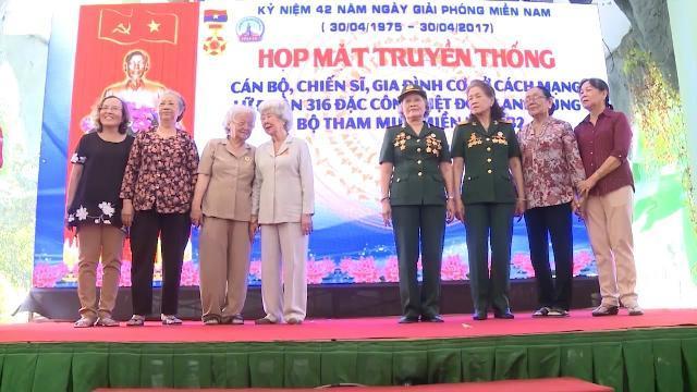 Cựu binh Lữ đoàn 316 Đặc công Biệt động Sài Gòn gặp mặt truyền thống