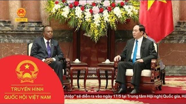 Thời sự - Chủ tịch nước Trần Đại Quang tiếp Bộ trưởng Phủ Tổng thống Madagasca