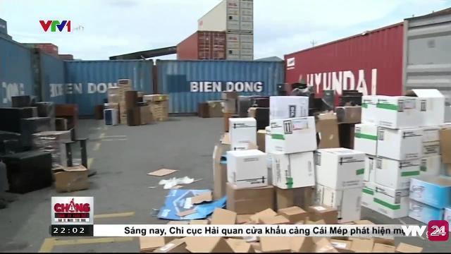 Phát hiện container quá cảnh tại Bà Rịa - Vũng Tàu | VTV24