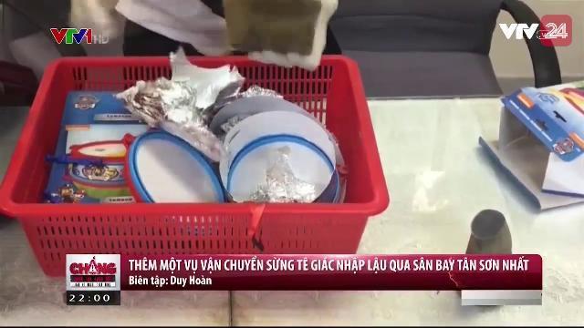 Thêm một vụ vận chuyển sừng tê giác nhập lậu qua sân bay Tân Sơn Nhất | VTV24