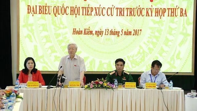 Tin Tức 24h: Tổng Bí thư Nguyễn Phú Trọng tiếp xúc cử tri TP. Hà Nội