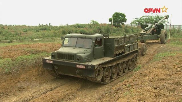 Xưởng X203 sửa chữa, tăng hạn xe quân sự đặc chủng