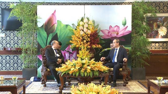 Lãnh đạo TP Hồ Chí Minh tiếp Chủ tịch Thượng viện Myanmar