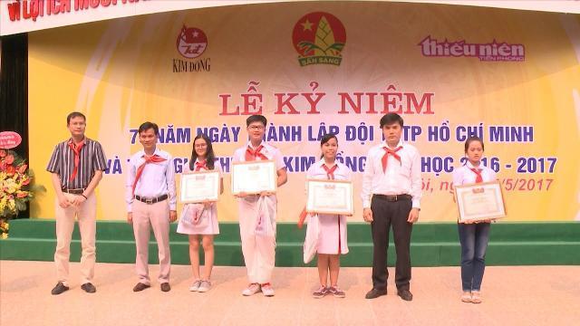 Nâng cao hiệu quả công tác Đội tại các trường tiểu học và THCS
