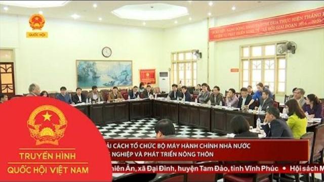 Thời sự - Lạng Sơn: Giám sát cải cách tổ chức bộ máy hành chính nhà nước tại Sở TN&MT