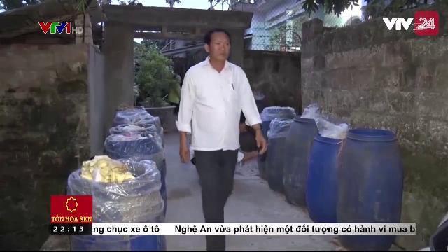 Hà Nam: Phát hiện 1,3 tấn măng tươi ngâm hóa chất | VTV24