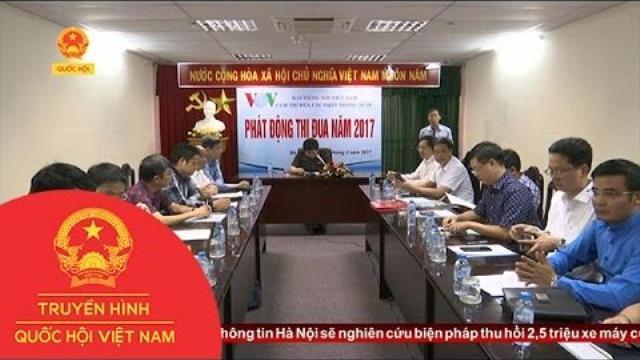 Thời sự - Cụm cơ quan thường trú Đài Tiếng nói Việt Nam ký kết giao ước thi đua 2017.