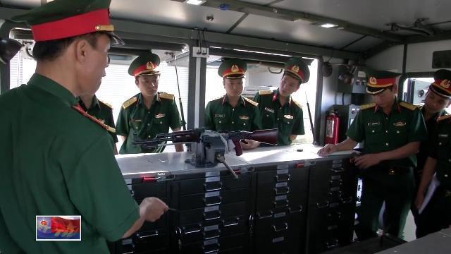 Tập huấn sử dụng xe sửa chữa vũ khí cho cán bộ Quân khí Đăk Nông