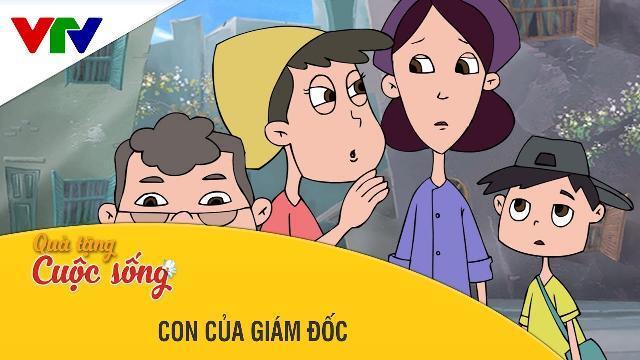 Phim hoạt hình Quà Tặng Cuộc Sống ►Con Cuả GIám Đốc ► Phim hoạt hình hay 2017 ► Phim hay 2017