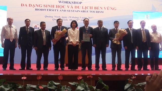 Quảng Ninh trao danh hiệu Vườn Di sản ASEAN cho Vườn Quốc gia Bái Tử Long