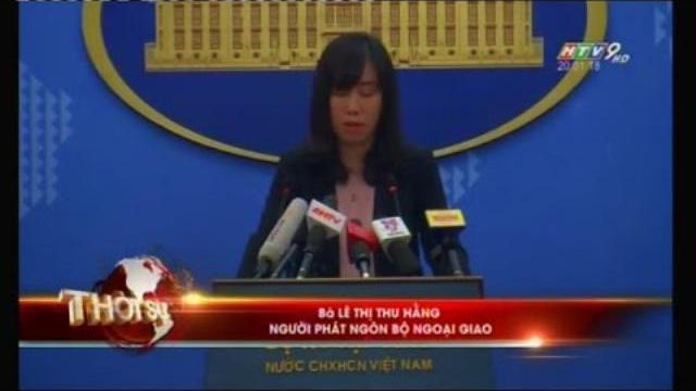 Việt Nam phản ứng Trung quốc diễn tập bắn đạn thật chiếm đảo trên Biển Đông