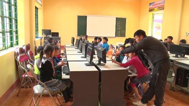 Lào Cai sắp xếp lại điểm trường vùng cao để nâng cao chất lượng giáo dục