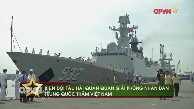 Tàu chiến Hải quân Trung quốc thăm Việt Nam