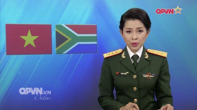 Đối thoại QP Việt Nam - Nam Phi: Ủng hộ giải quyết mọi tranh chấp bằng biện pháp hòa bình