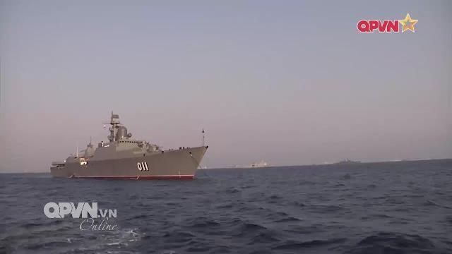 Thời sự Quốc phòng Việt Nam ngày 5/4/2017: Làm chủ vũ khí hiện đại trên tàu hộ vệ tên lửa 011